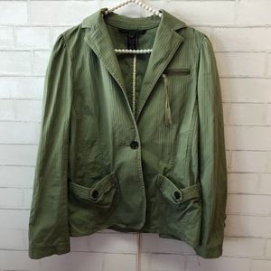 Marc By Marc Jacobs / green military blazer